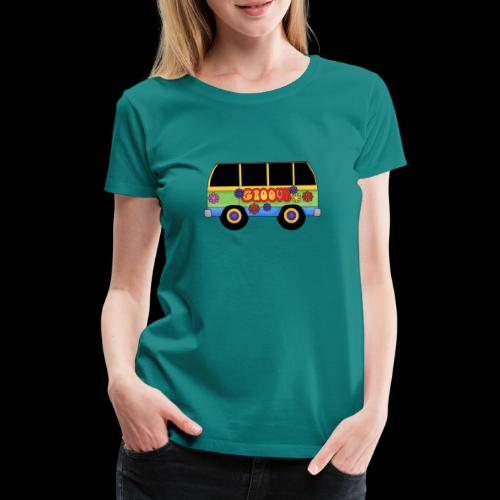 GROOVY BUS - Women's Premium T-Shirt
