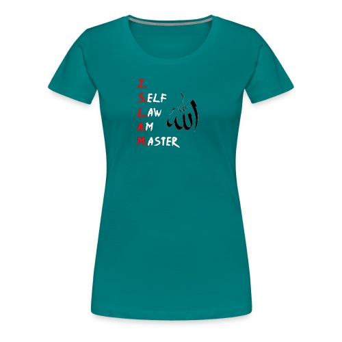 Moorish American T-Shirt Jag Självlag är Master Te - Premium-T-shirt dam