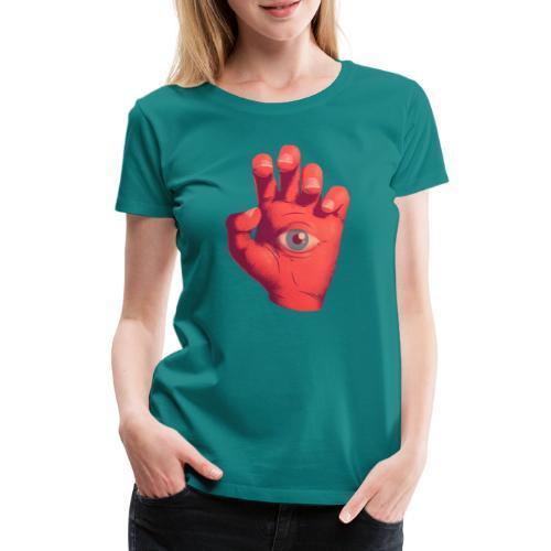 EYE HAND - Camiseta premium mujer