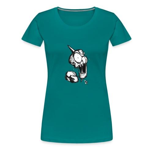 Döner eating Döner - Frauen Premium T-Shirt