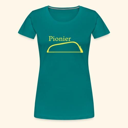 Pionier Säge - Frauen Premium T-Shirt