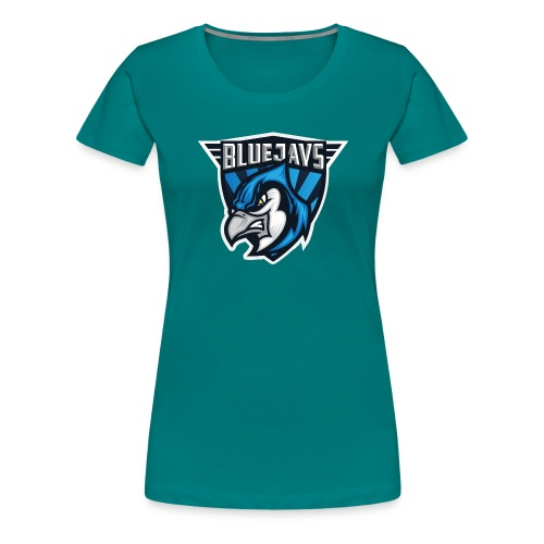 BLUEJAYS Logo - Frauen Premium T-Shirt
