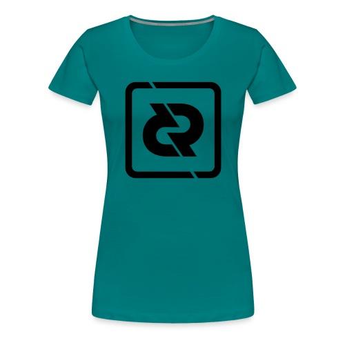 REFLUXED LOGO 2017 SYMBOL - Vrouwen Premium T-shirt