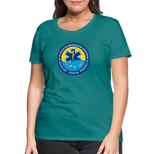 ATESCAN COLOR - Camiseta premium mujer