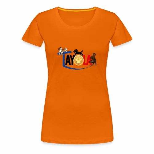 TAYOLA logo 2019 HD - T-shirt Premium Femme