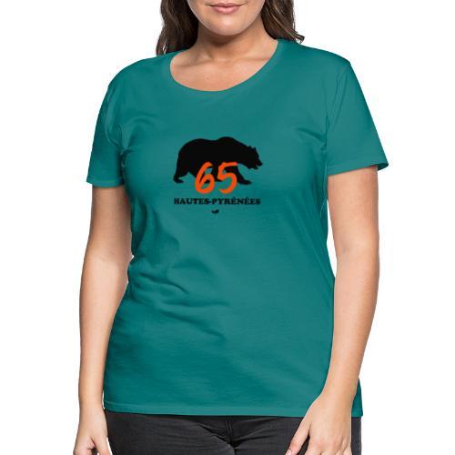 OURS des HAUTES-PYRÉNÉES - T-shirt Premium Femme