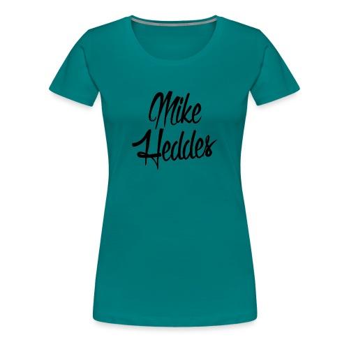 Mike Heddes Logo Black - Women's Premium T-Shirt