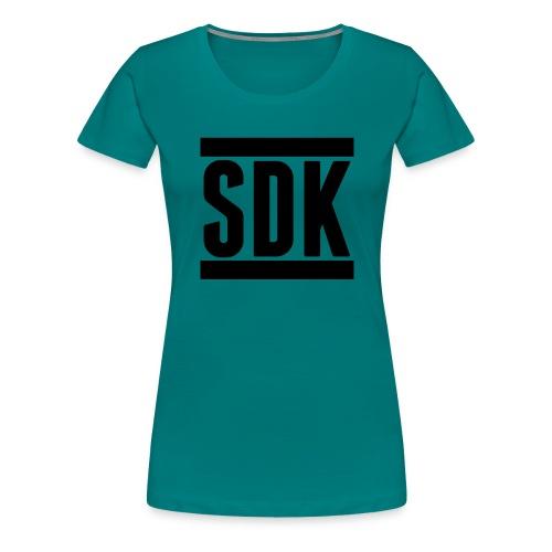 Cap SDK Logo - Dame premium T-shirt