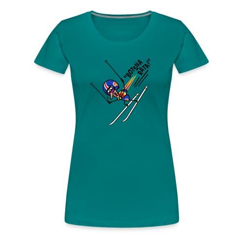 Adrenalini - Xan Ski Stunt - Women's Premium T-Shirt