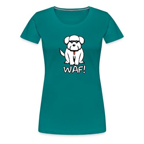 Puppy waf! - Camiseta premium mujer