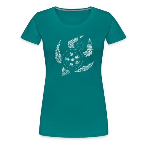 Tortuga - Camiseta premium mujer