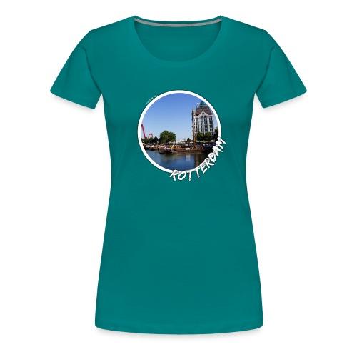 rotterdam oude haven 2 - Vrouwen Premium T-shirt