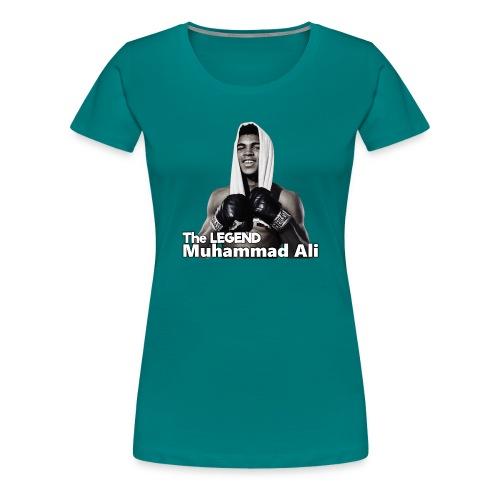 Muhammad_ali - Vrouwen Premium T-shirt