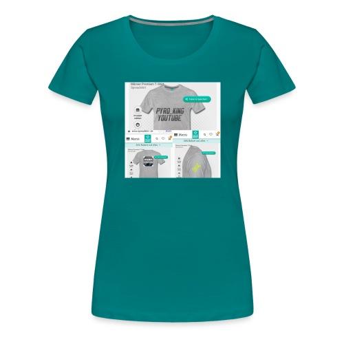 Pyro_King T-shirt - Frauen Premium T-Shirt