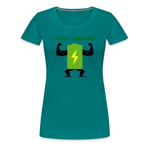 Batería cargada - Camiseta premium mujer