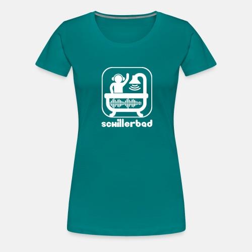 Schillerbad_White - Frauen Premium T-Shirt