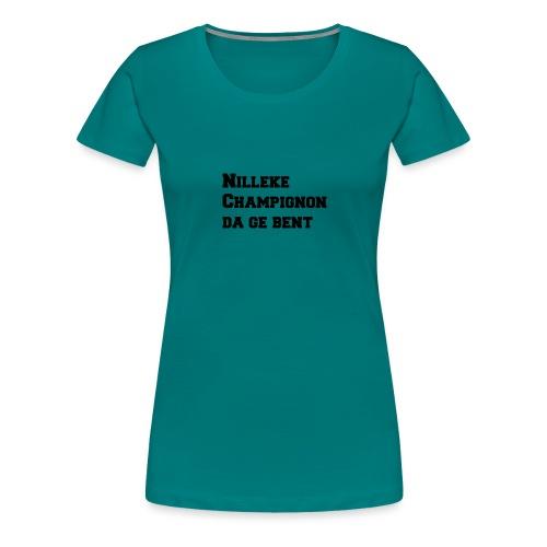 Nilleke Streetwear - Vrouwen Premium T-shirt