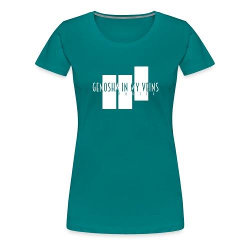 PORTER GENOSHA in my vein - Frauen Premium T-Shirt