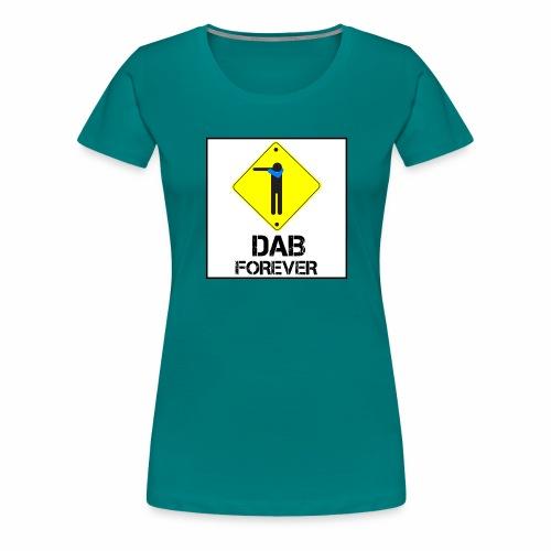 Dab Forever Yellow Black - Maglietta Premium da donna