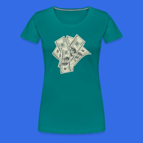 more money - Women's Premium T-Shirt