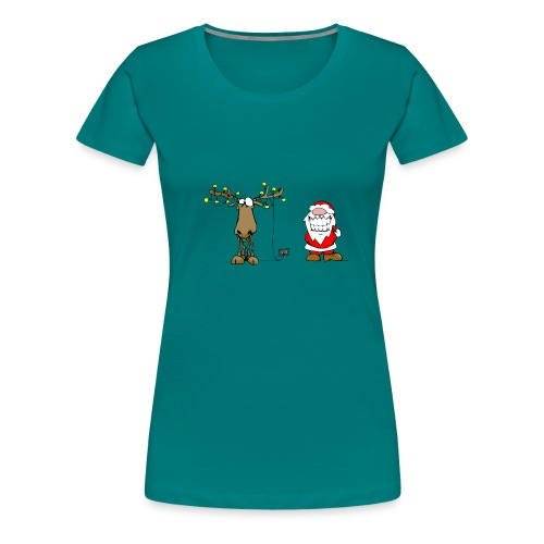 noel branché - T-shirt Premium Femme