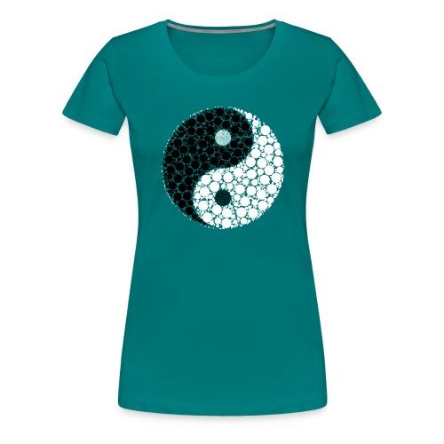 Yin/yang - Frauen Premium T-Shirt