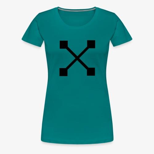 X BLK - Frauen Premium T-Shirt