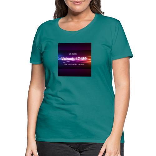 Valoudu17180twitch - T-shirt Premium Femme