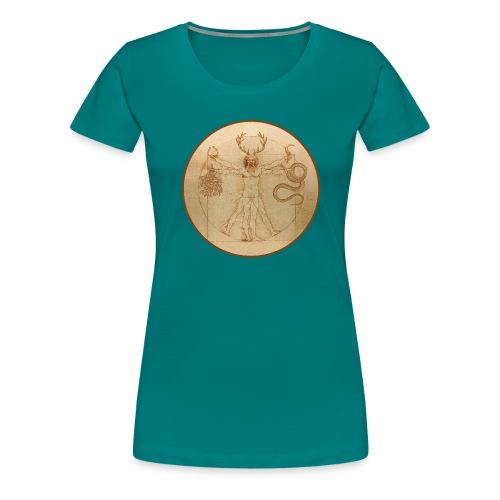 Cernunnos Vitruvio - Maglietta Premium da donna
