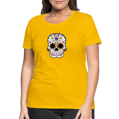 skull7 - Maglietta Premium da donna