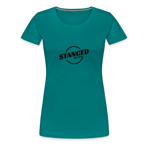 stanced racing - Frauen Premium T-Shirt