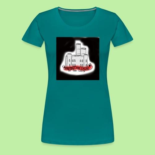 protect the castle - Women's Premium T-Shirt