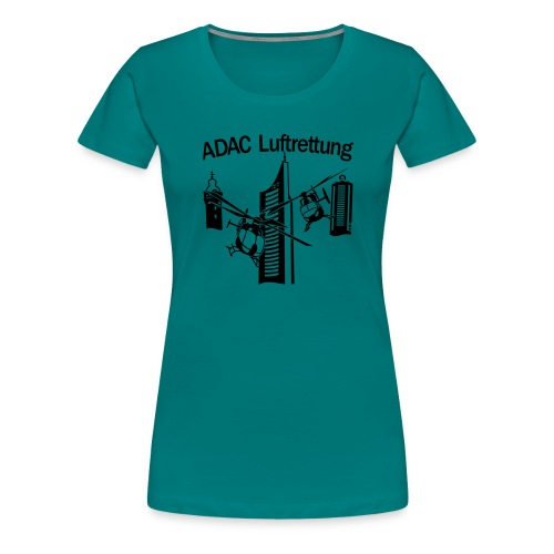 ADAC Luftrettung - Frauen Premium T-Shirt