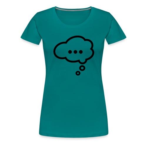bubble - T-shirt Premium Femme