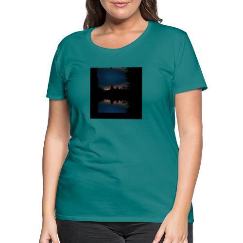 Gott ist gut - Sonnenhorizont Spiegelung Berliner - Frauen Premium T-Shirt