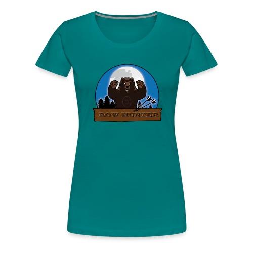 3D_bär - Frauen Premium T-Shirt