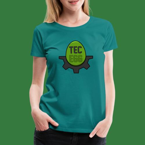 TecEgg - Official Logo - Frauen Premium T-Shirt
