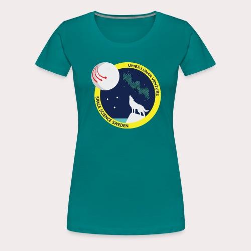 ULV - Umeå Lunar Venture - Premium-T-shirt dam