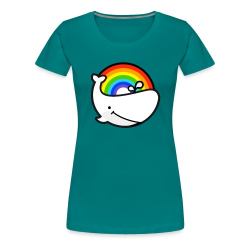 whale - Premium-T-shirt dam