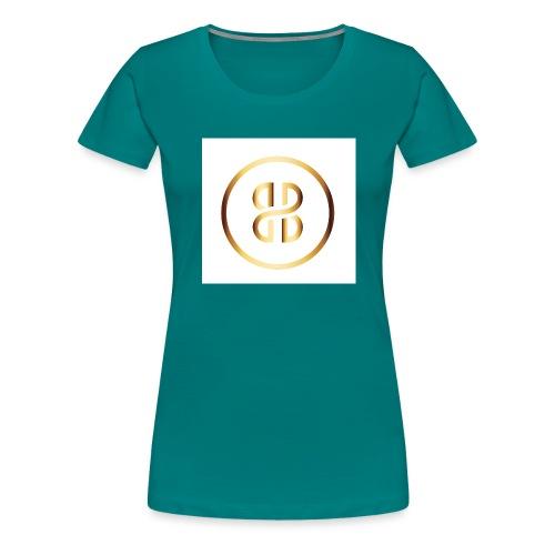 BKI logo circle - Women's Premium T-Shirt
