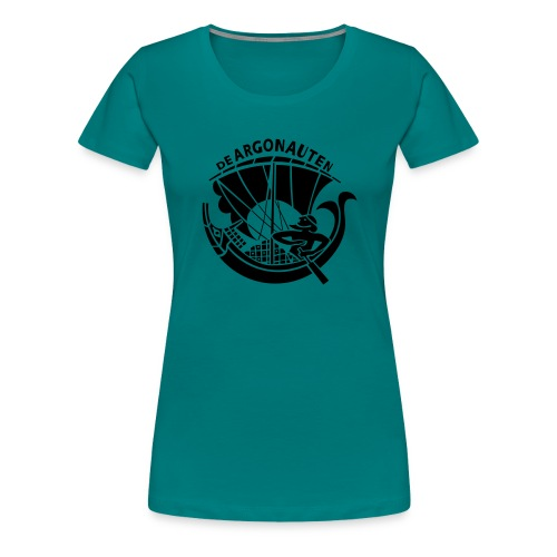 argologovoorkant - Vrouwen Premium T-shirt
