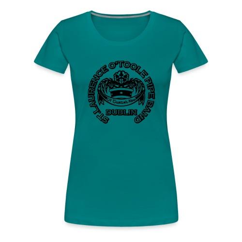 CREST COPPERPLATE 800x800 - Women's Premium T-Shirt
