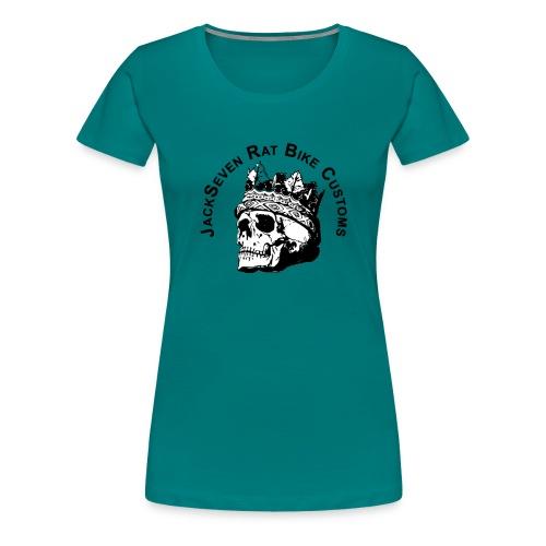 JackSeven Rat Bike Customs Design extra Groß - Frauen Premium T-Shirt
