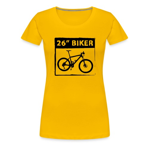 26 Biker - 1 Color - Frauen Premium T-Shirt