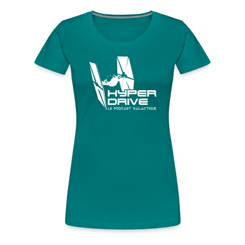 Hyperdrive, logo Galactique - T-shirt Premium Femme