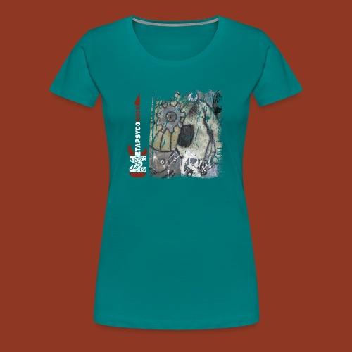 SKULL GEARS - Maglietta Premium da donna