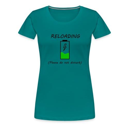 Cargando - Camiseta premium mujer