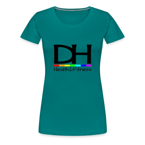 DH Health&Fitness Large logo - Women's Premium T-Shirt