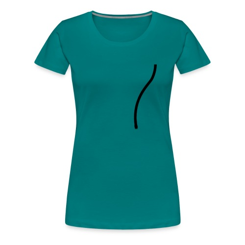 strop2 achterkant copy - Vrouwen Premium T-shirt