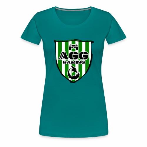 AGG GAMING II - Frauen Premium T-Shirt